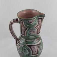 Antigüedades: JARRA DE CERAMICA HERMANOS GORRIZ TERUEL, FIRMADA POR ISMAEL GORRIZ. Lote 295694773