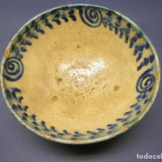 Antigüedades: S.XIX GRAN CUENCO TAZON BOWL FAJALAUZA. Lote 295782958