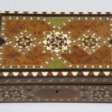 Antigüedades: CAJA DE TARACEA. GRANADA. AÑOS 40. Lote 295815973