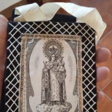 Antigüedades: VIRGEN DEL CARMEN EXVOTO TELA. Lote 295841123