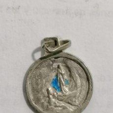 Antigüedades: MEDALLA, VIRGEN DE LOURDES, MEDIDA 12 MM. Lote 295861448