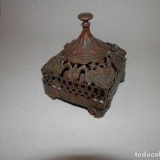 Antigüedades: ANTIGUO LLAMADOR, CAMPANA O TIMBRE DE RECEPCION VICTORIANO, S.XIX, MECANISMO DE GIRO PARA CAMPANA. Lote 295881688