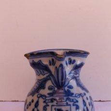 Antigüedades: JARRA DE CERAMICA DE TALAVERA ALFAR RUIZ DE LUNA. Lote 295894943