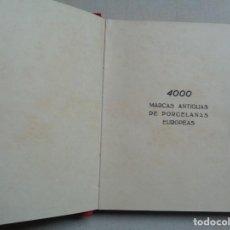 Antigüedades: 4000 MARCAS ANTIGUAS DE PORCELANAS EUROPEAS.-838. Lote 295921248