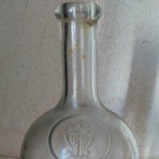 Antigüedades: ANTIGUO FRASCO BOTELLÓN DE CRISTAL CATALÁN. Lote 295967763