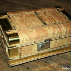 Antigüedades: BAUL COFRE MADERA CON MUSICA. Lote 295999473