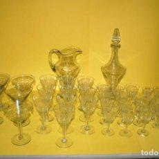 Antigüedades: CRISTALERIA ANTIGUA AÑOS 40. Lote 296000033