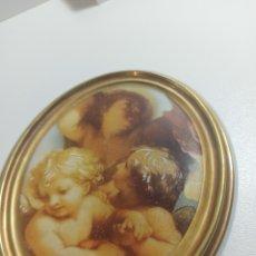Antigüedades: PORCELANA SHARON DECOR LIMOGES FRANCIA. Lote 296556113