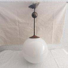 Antigüedades: LÁMPARA DE TECHO ART DECO ANTIGUA. Lote 296622403