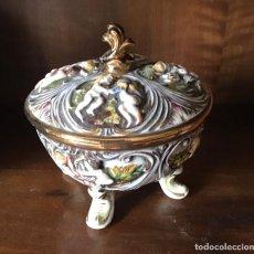 Antigüedades: CAPODIMONTE. Lote 296762373