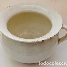 Antigüedades: ESCUPIDERA PEQUEÑA DE CERAMICA. ESCUP-13. Lote 296805773