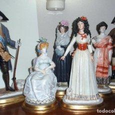 Antigüedades: GOYA EN PORCELANA ALGORA. Lote 296813848
