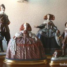 Antigüedades: VELÁQUEZ EN PORCELANA ALGORA. Lote 296814453