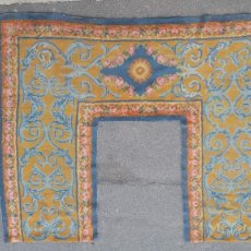 Antigüedades: ALFOMBRA REAL FABRICA DE TAPICES 3.20 X 2.70. Lote 296959528