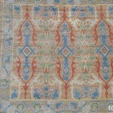 Antigüedades: ALFOMBRA REAL FABRICA DE TAPICES 2.50 X 2.50. Lote 296961298