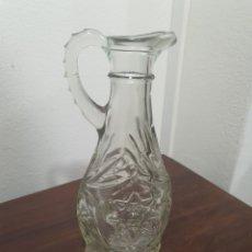 Antigüedades: BONITO JARRON DE CRISTAL TALLADO. Lote 296967553