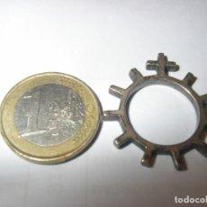 Antigüedades: ROSARIO DE DEDO EN PLATA. Lote 297093233