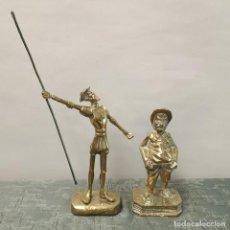 Antigüedades: FIGURAS DON QUIJOTE Y SANCHO PANZA. Lote 297155313