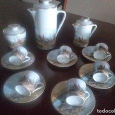 Antigüedades: JUEGO DE CAFE DE LIMOGES. Lote 297276203