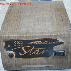 Radios antiguas: ALTERNADOR DE CORRIENTE STAR. Lote 6549088