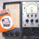 Radios antiguas: COMPROBADOR DE TUBOS DE TV BK-440.TUBE TESTER......SANNA. Lote 55149320