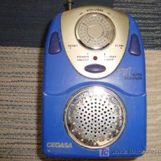 Radios antiguas: RADIO CEGASA, FM SCANNER. Lote 14095293