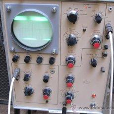 Radios antiguas: OSCILOSCOPIO INGLES APROX 1970/80 A VALVULAS - MARCA SOLATRON - 58 X 41 X32 CM APROX 20 KILOS. Lote 20234186