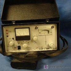Radios antiguas: MEDIDOR DE CAMPOS MARCA PROMAX, MDLO. SF-721. VER FOTOS - BIEN CONSERVADO. Lote 40312065