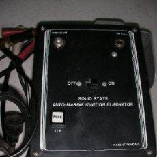 Old radios - SOLID STATE AUTO MARINE IGNITION ELIMINATOR - 23386330