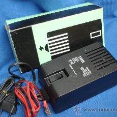 Radios antiguas: CARGADOR CBP-1000 - 220/15 V.- 1000MA. 15 W - MARCA TRQ - NUEVO. Lote 117913175