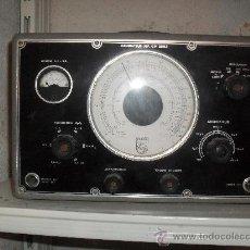 Radios antiguas: GENERADOR DE FRECUENCIAS PHILIPS - FUNCIONANDO . Lote 30619983