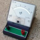 Radios antiguas: MICROAMPERIMETRO DE 200 MICRO AMPERIOS . MEDIDOR ...SANNA. Lote 48587776