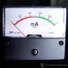 Alte Radios - Miliamperimetro 1 mA para comprobador de valvulas. medidor..sanna - 31662089