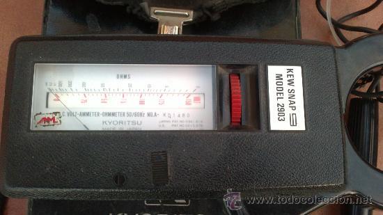 Radios antiguas: -PINZA AMPERIMETRICA-KEW SNAP-MODEL 2903-FUNCIONANDO(CON FUNDA:ORIGINAL) - Foto 3 - 33959952
