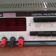 Radios antiguas: -MULLTIMETRO DIGITAL-ADVANCE.DMM2-MADE IN ENGRAND-FUNCIONANDO. Lote 33960062