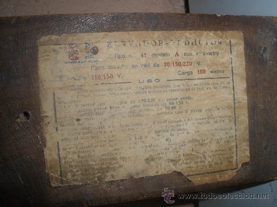 Radios antiguas: trasera - Foto 3 - 66234097