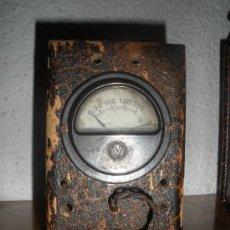 Radios antiguas: ANTIGUO TRANSFORMADOR ELEVADOR REDUCTOR CORRIENTE ALCER - VER FOTO ADICIONAL. Lote 36258127