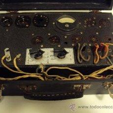Radios antiguas: COMPROBADOR DE VALVULAS. Lote 36461365