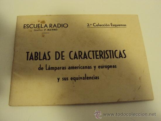 Radios antiguas: COMPROBADOR DE VALVULAS - Foto 4 - 36461365