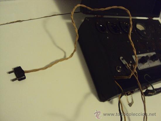Radios antiguas: COMPROBADOR DE VALVULAS - Foto 8 - 36461365