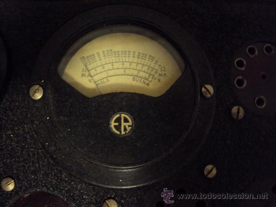 Radios antiguas: COMPROBADOR DE VALVULAS - Foto 9 - 36461365