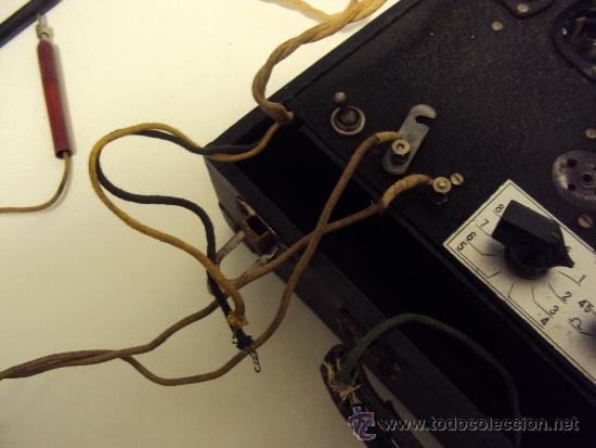 Radios antiguas: COMPROBADOR DE VALVULAS - Foto 10 - 36461365