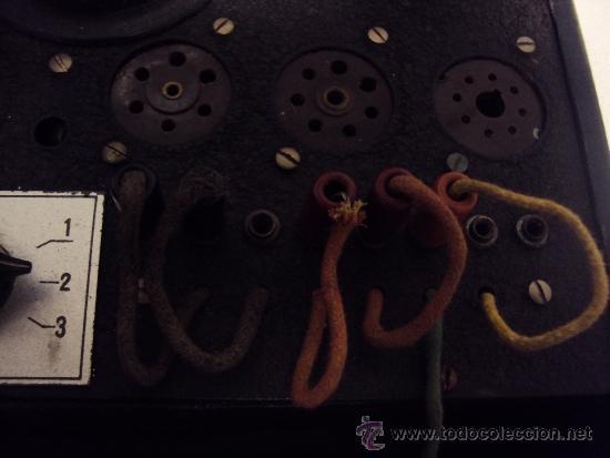 Radios antiguas: COMPROBADOR DE VALVULAS - Foto 12 - 36461365