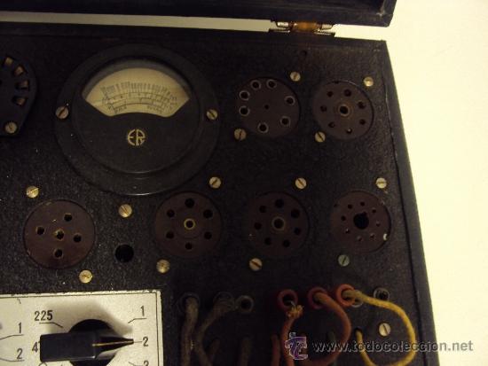 Radios antiguas: COMPROBADOR DE VALVULAS - Foto 14 - 36461365