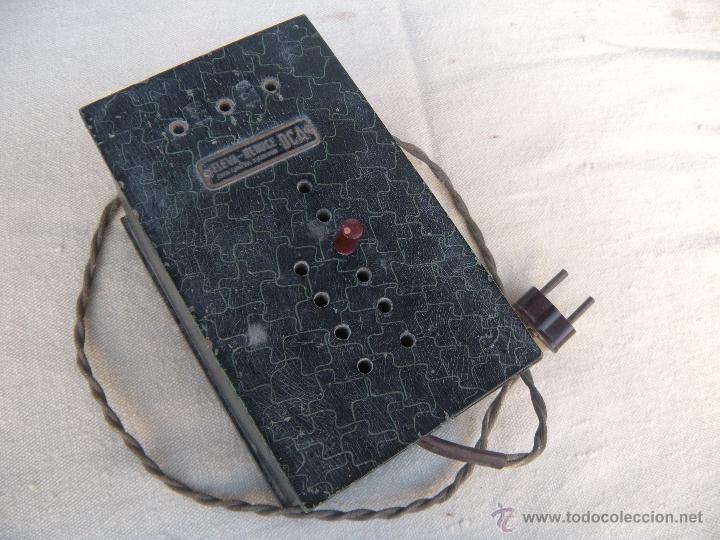 ANTIGUO ELEVADOR REDUCTOR CON LIMITADOR DE APARATO DE RADIO. DCA. (Radios - Aparatos de Reparación y Comprobación de Radios)