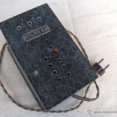 Radios antiguas: ANTIGUO ELEVADOR REDUCTOR CON LIMITADOR DE APARATO DE RADIO. DCA.. Lote 39767614