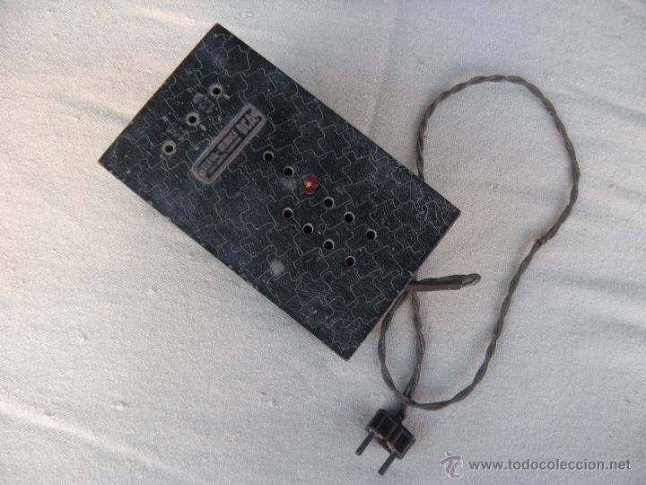Radios antiguas: ANTIGUO ELEVADOR REDUCTOR CON LIMITADOR DE APARATO DE RADIO. DCA. - Foto 5 - 39767614