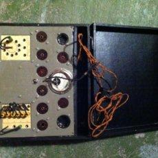 Radios antiguas: ANTIGUO COMPROBADOR DE VALVULAS DE VACIO. Lote 40023148