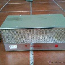 Radios antiguas: ANTIGUO TRANSFORMADOR MENPHIS.FABRICADO EN ESPAÑA. Lote 40097544