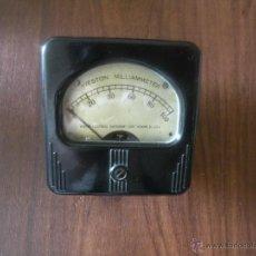 Radios antiguas: AMPERIMETRO WESTON HASTA 100 MILIAMPERIOS. Lote 42459262